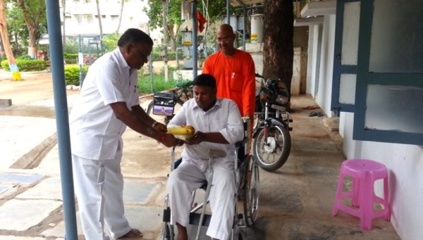 donation of wheelchair