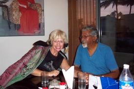Sue Kelly Christie with Vivek