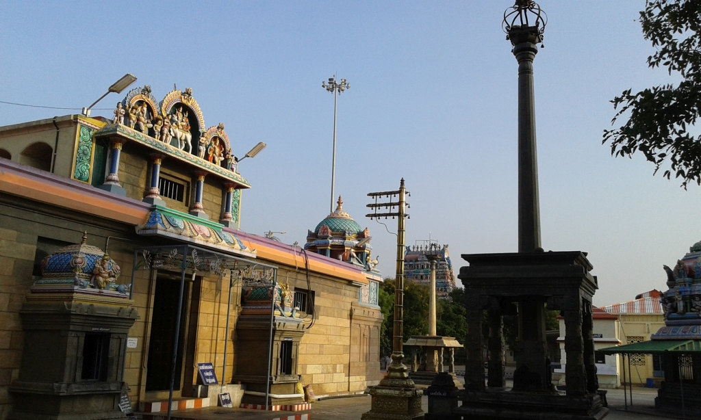 Entrance to Sangameswarar shrine